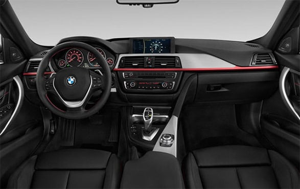 2014 BMW 3-Series Interior
