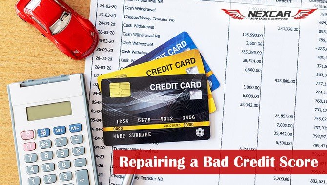 Tips on Repairing a Bad Credit Score