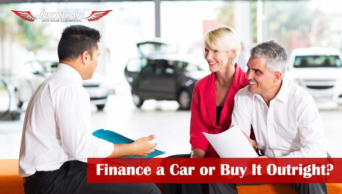 Finance a Car or Buy It Outright